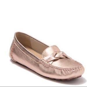 New Sperry Top Sider Katherine Gold Loafers